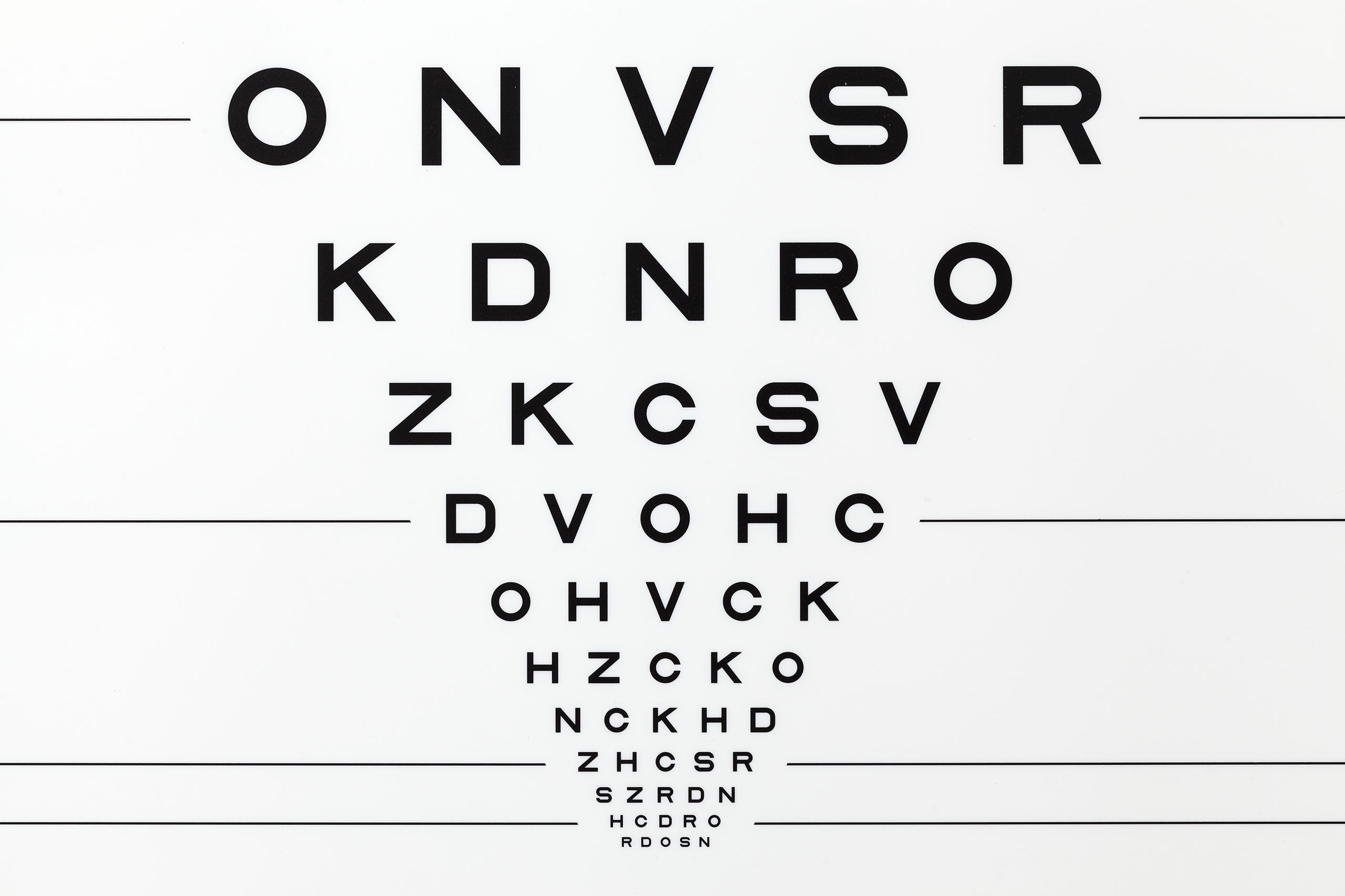 Vision testing clinicians measure visual acuity by testing a persons ability to discern standard patterns usually letters or numbers at a given distance according to a nvjuhfo Image collections